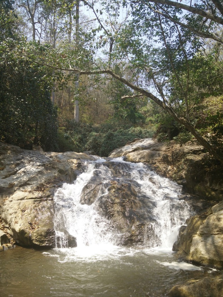Small part of the Mae Sa waterfall.