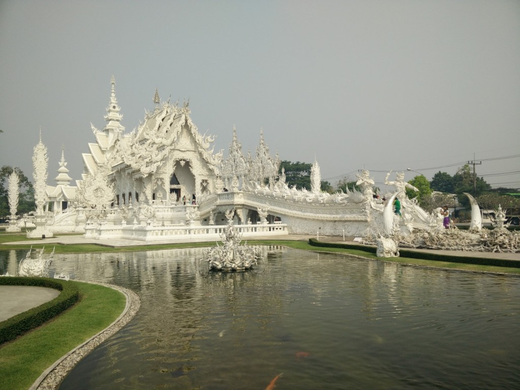 Beautiful White Temple.