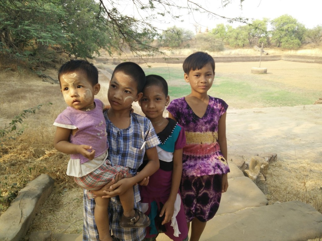 Kids from the local village.