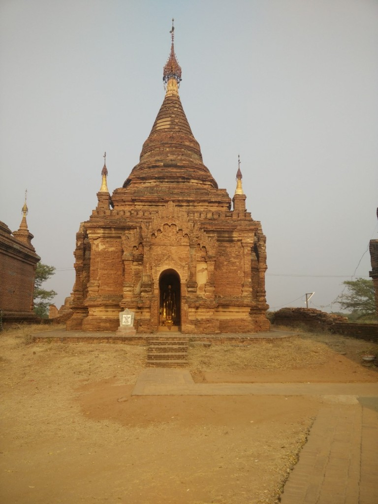 One of the temples in Bagan.
