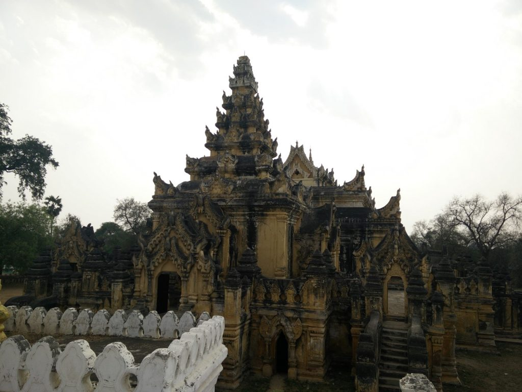 Maha Aung Mye Bonzan monastery.