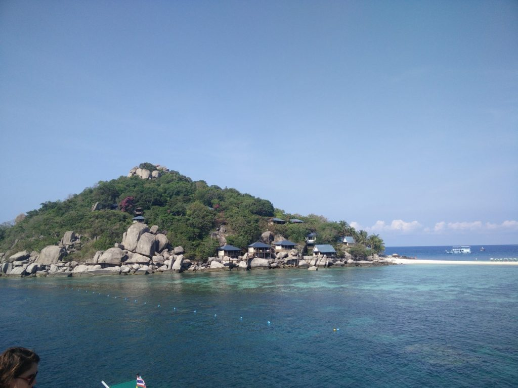 A beautiful view on my way to Koh Tao.