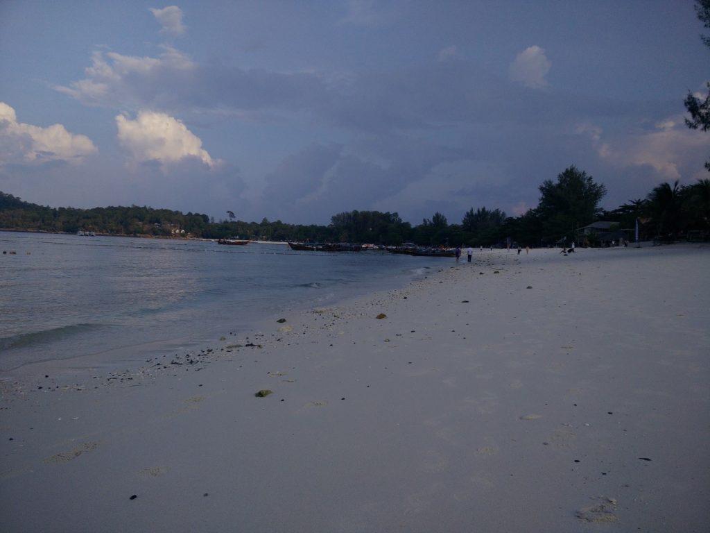 The beach at Langkawi.
