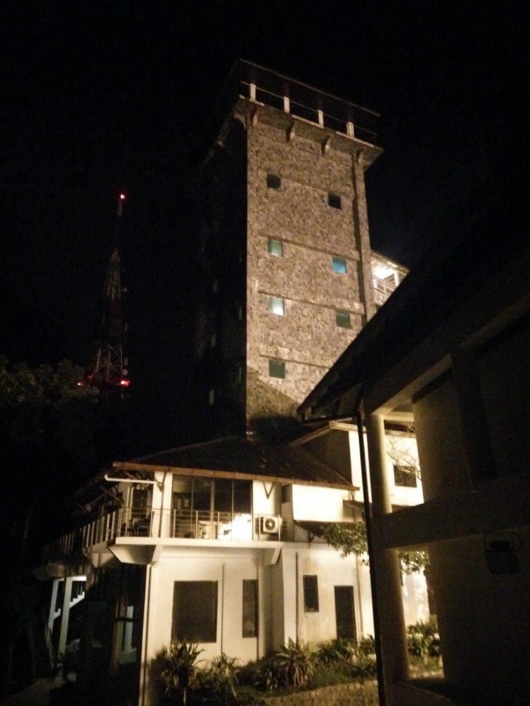The creepy resort at Gunung Raya.