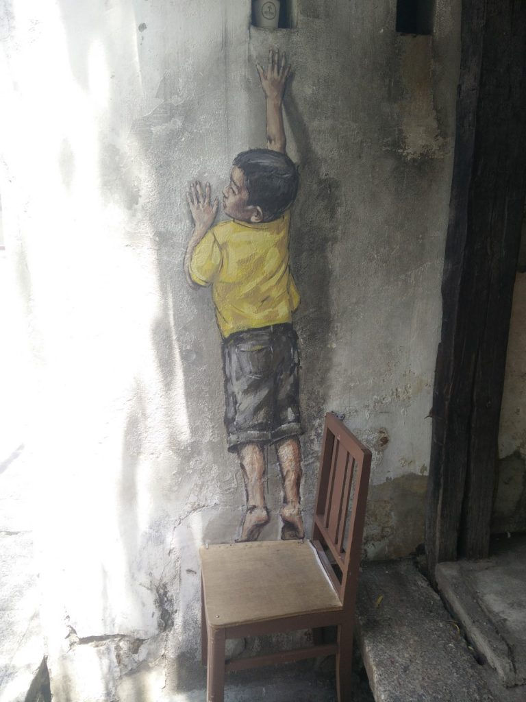 Georgetown street art.