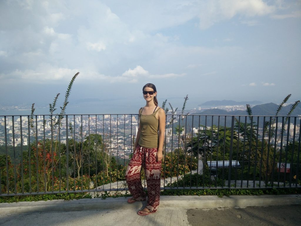 At the top of the Penang Hill.