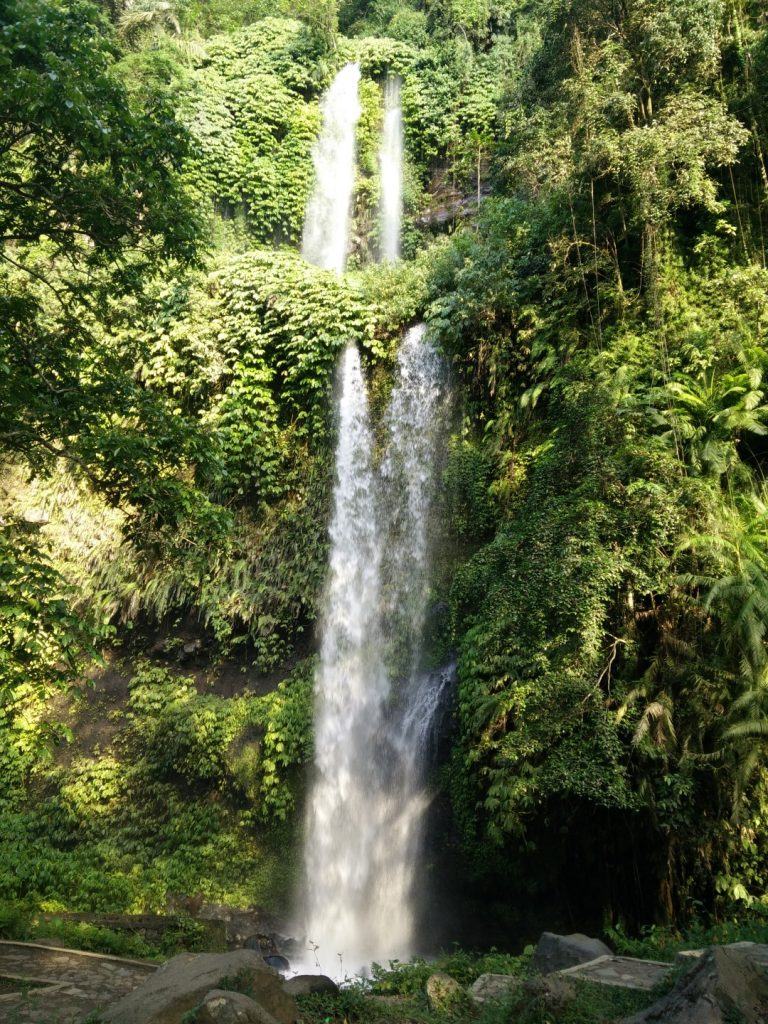 Waterfall nearby Senggigi.