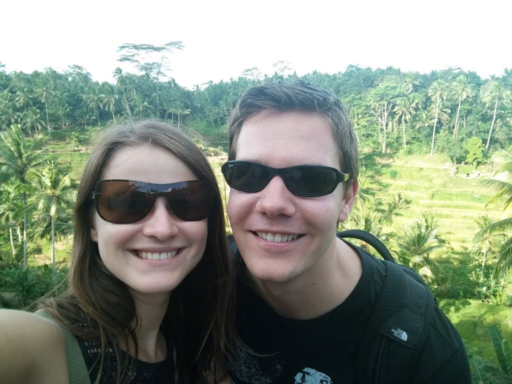 Us at the rice terraces :)