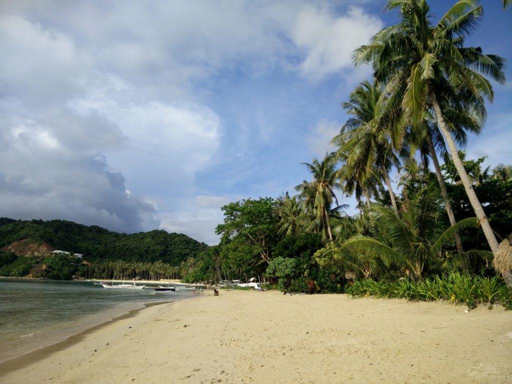 El Nido beach.