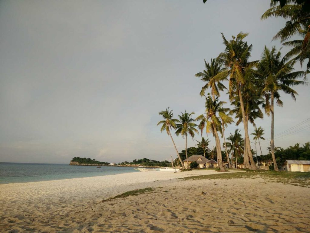 One of the beautiful beaches at Malapascua
