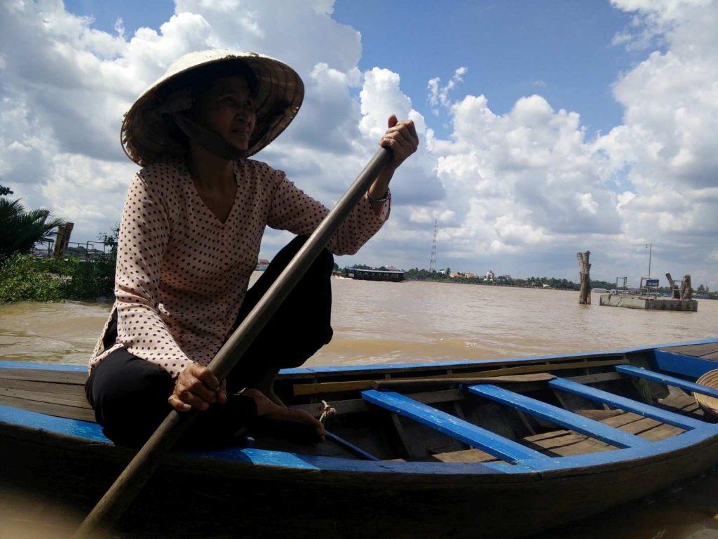 Vietnamese lady.