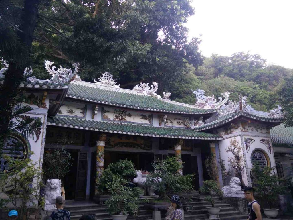 One of the Marble Mountain temples.