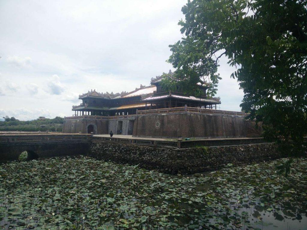 Hue's citadel.